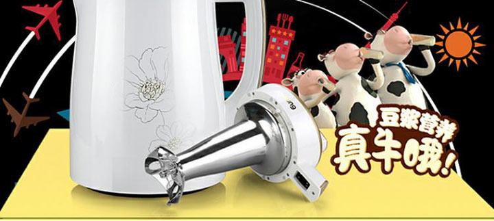 九阳豆浆机DJ13Q-D609SG